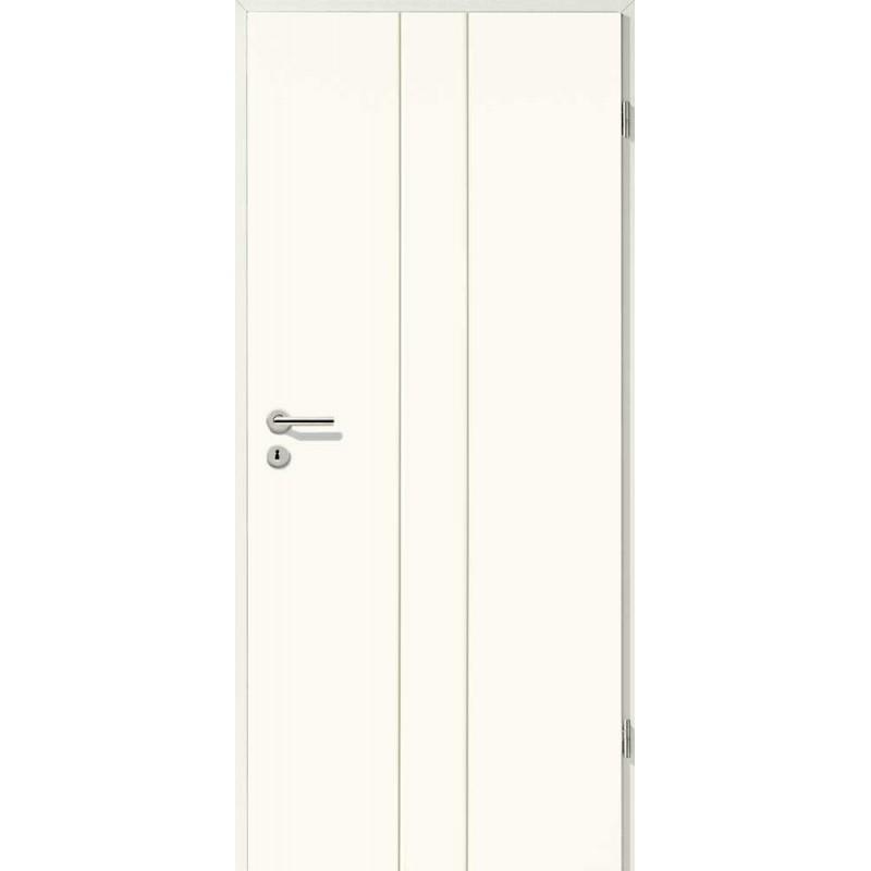 Holztüren - Designtür Weißlack 2501 (RAL9010)