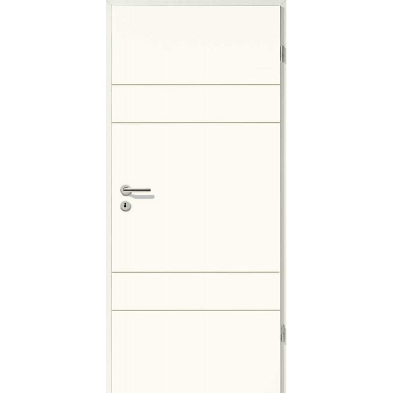 Holztüren - Designtür Weißlack 2504 (RAL9010)
