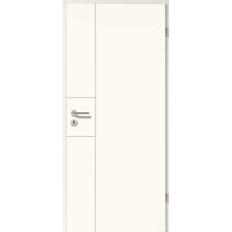 Holztüren - Designtür Weißlack 2508 (RAL9010)
