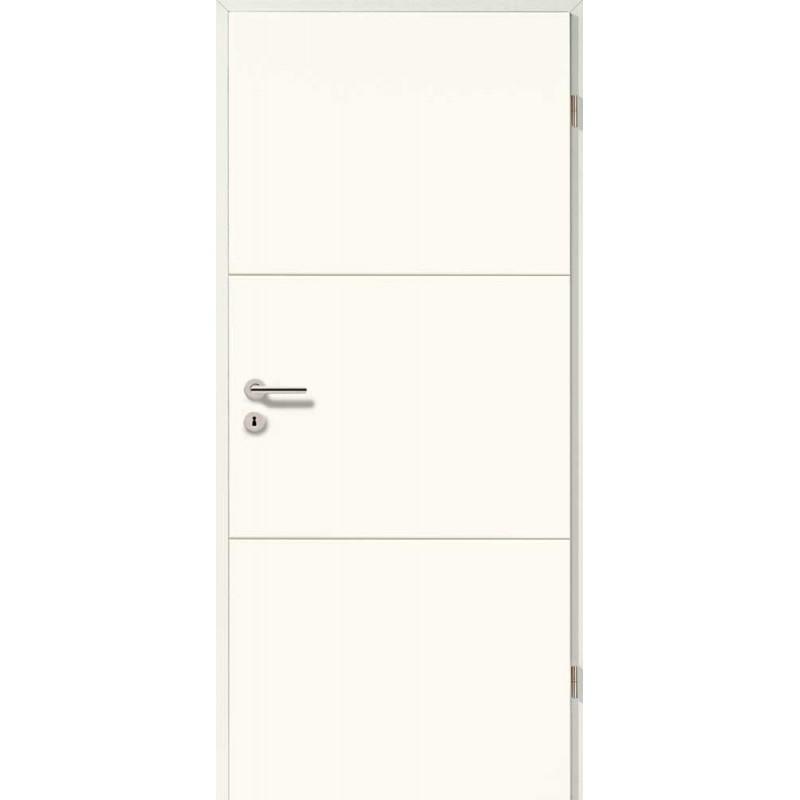 Holztüren - Designtür Weißlack 2510 (RAL9010)