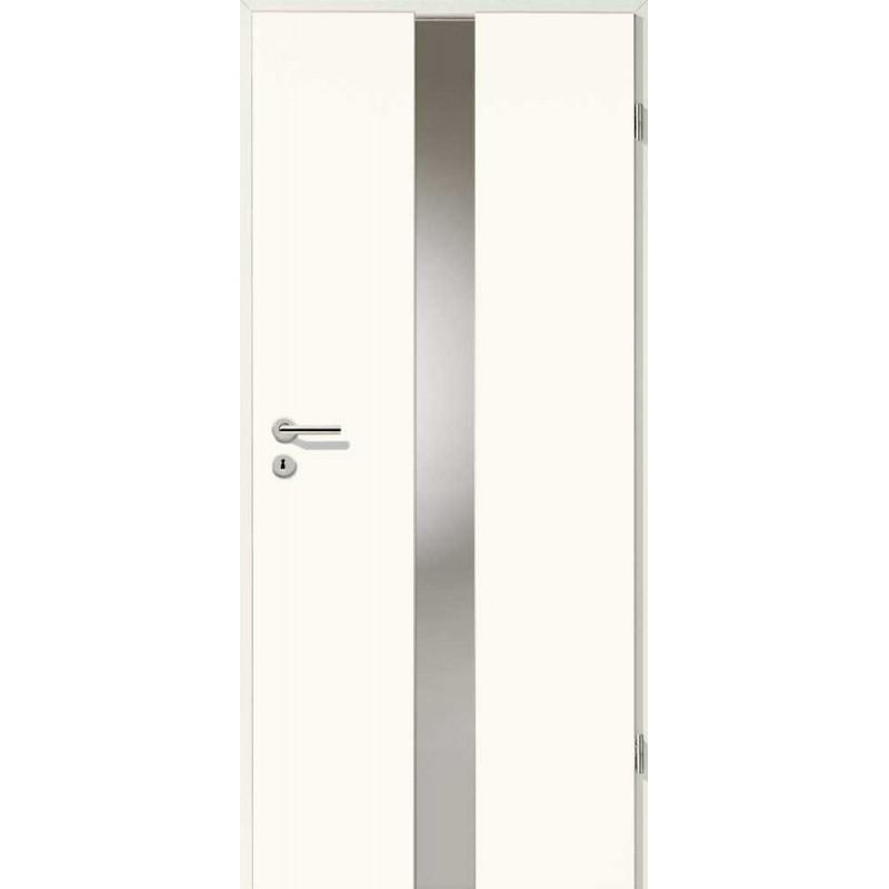 Holztüren - Designtür Weißlack 2501 (RAL9010) mit LA