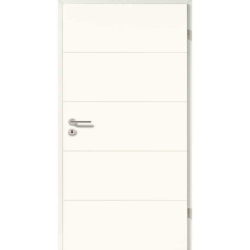 Holztüren - Designtür Lackweiß 5505 (RAL9010)