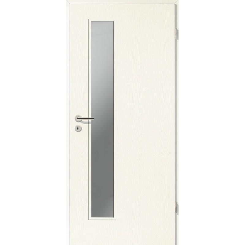 Extremely Holztüren - Türblatt CPL - Esche Weiß mit VJ78