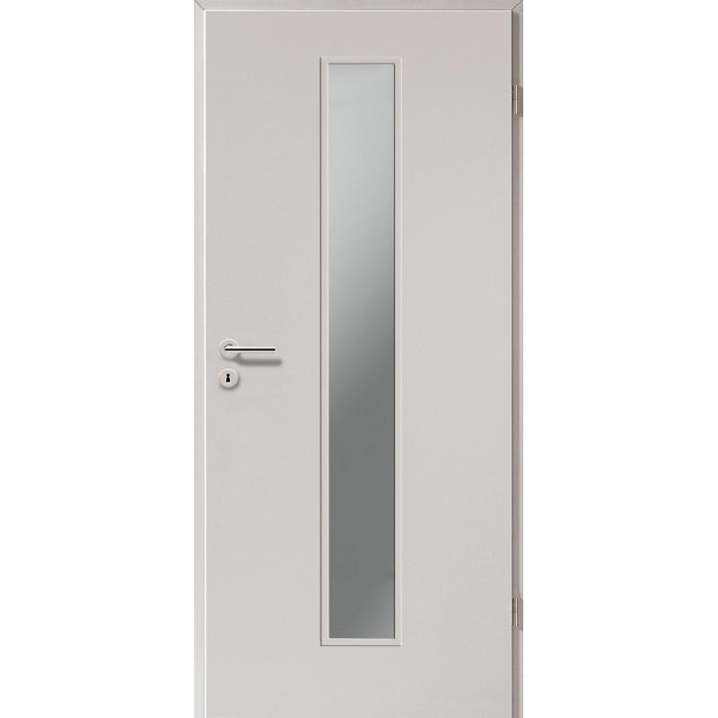 Holztüren - Türblatt CPL - Ferrum mit Lichtausschnitt LA-1