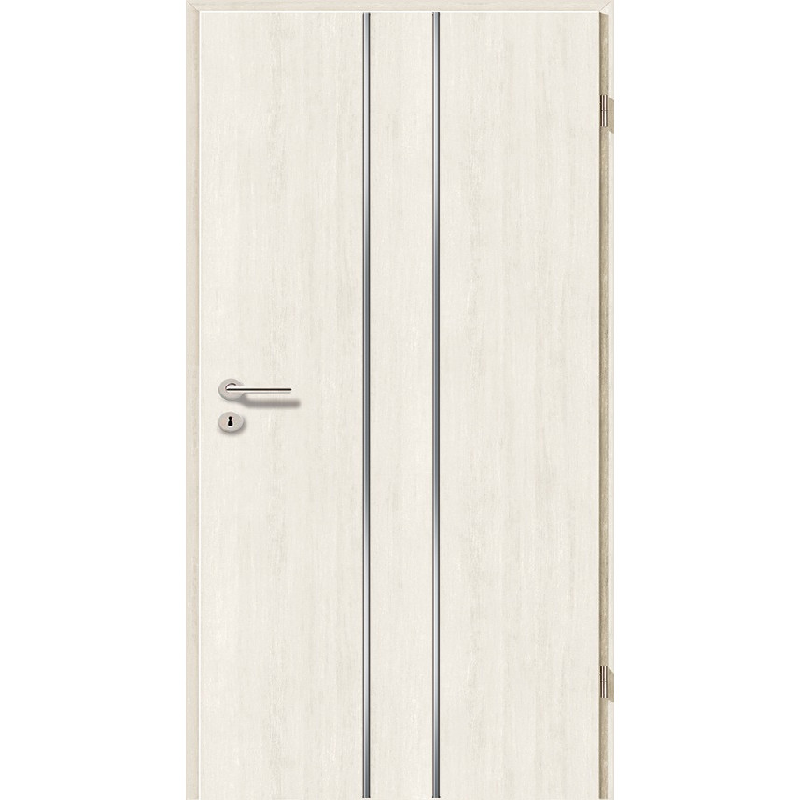 Lisenen-Türen - Pinie Weiß-3501