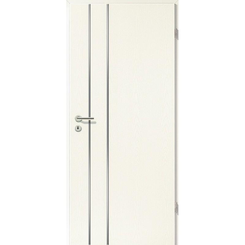 Lisenen-Türen - Esche Weiß-3502