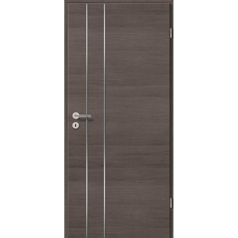 Lisenen-Türen - Pinie Grau Cross-3502