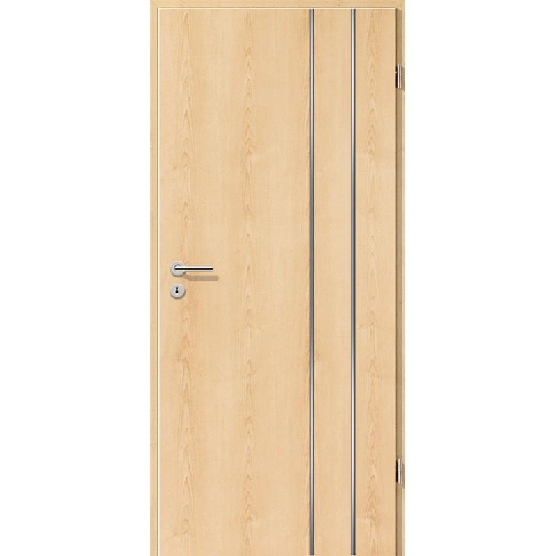 Lisenen-Türen - Ahorn Natur-3503
