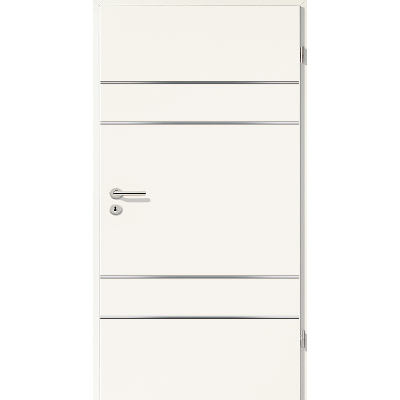 Lisenen-Türen - Uni Weiß-3504