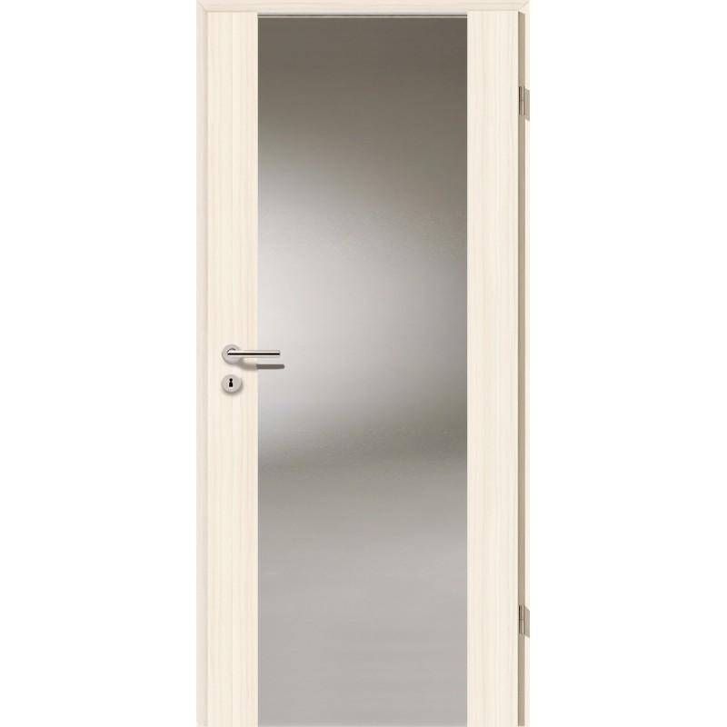 Holztüren - Türblatt - Coco Bolo Weiß mit Lichtband 2100