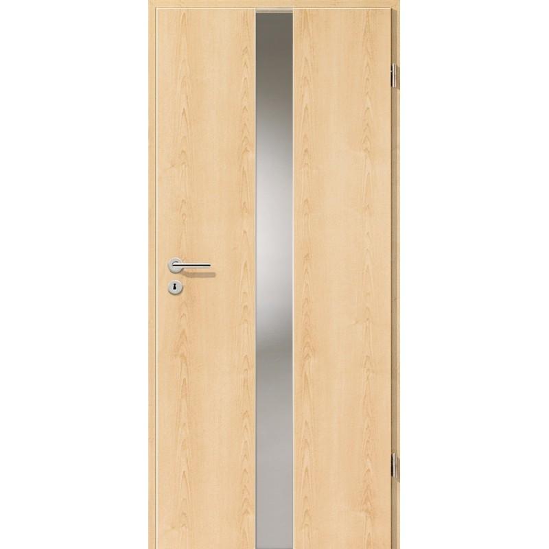 Holztüren - Türblatt - Ahorn Natur mit Lichtband 2201