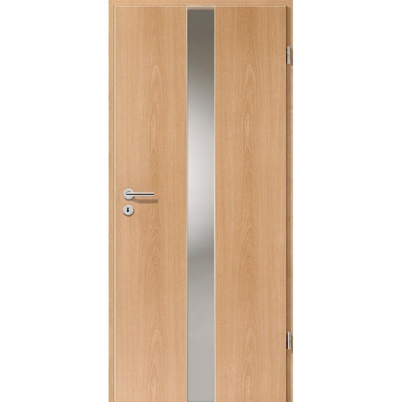 Holztüren - Türblatt - Buche mit Lichtband 2201