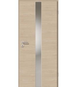 Holztüren - Türblatt - Platineiche Cross mit Lichtband 2201