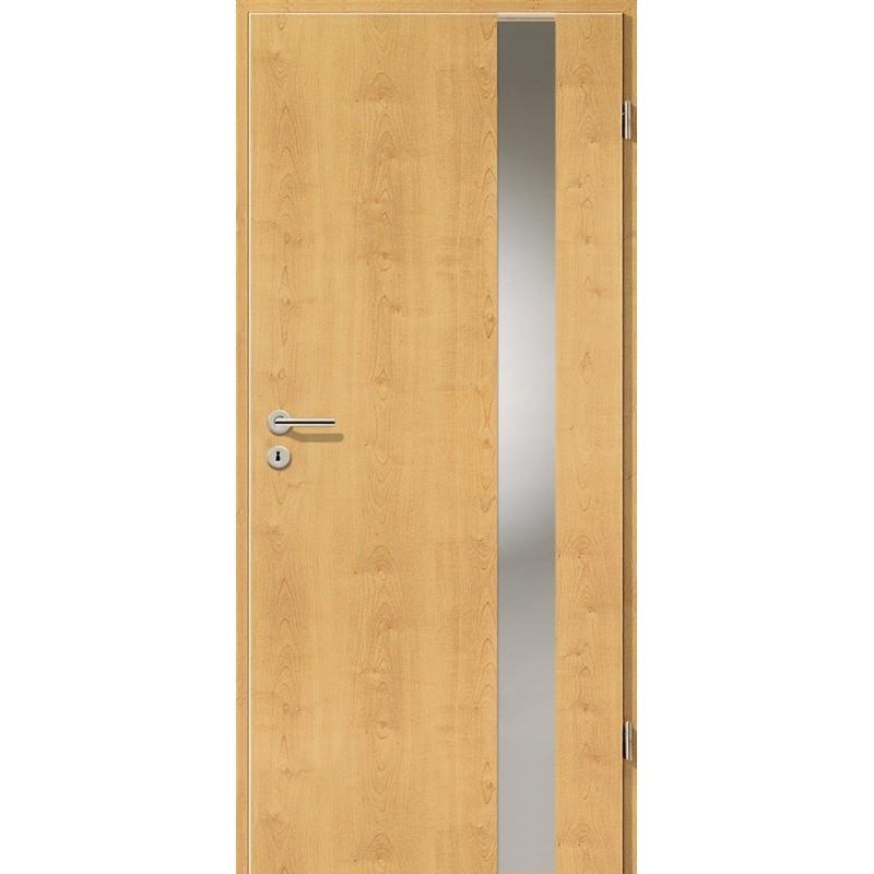 Holztüren - Türblatt - Ahorn Rustikal mit Lichtband 2203