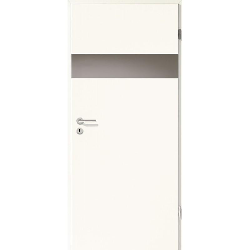 Holztüren - Türblatt - Arctic Weiß mit Lichtband 2204
