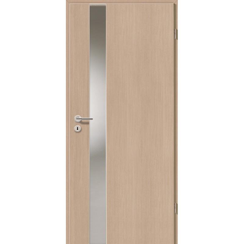 Holztüren - Türblatt - Pinie Hell mit Lichtband 2202