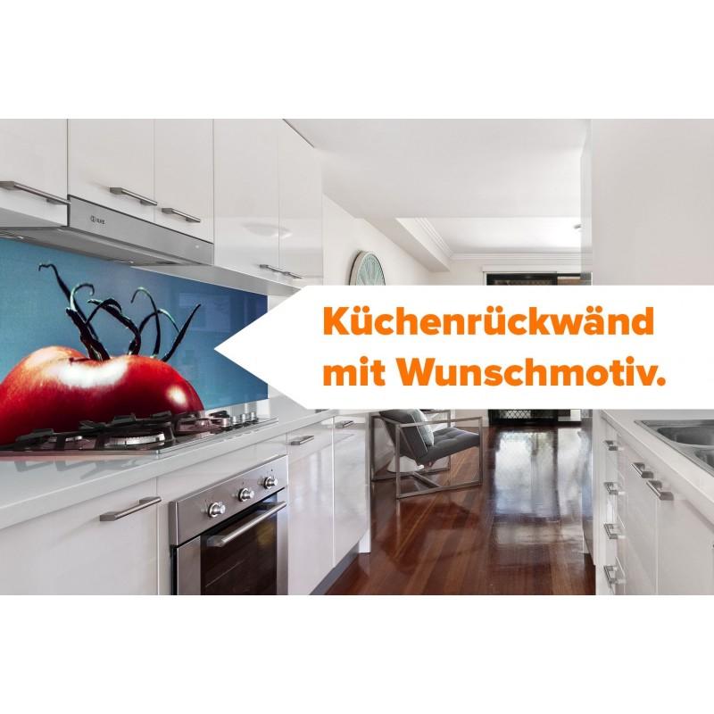 Gestalte Deine Küchenrückwand mit Wunschmotiv