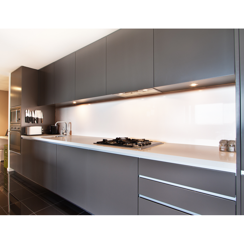 Küchenrückwand Reinweiß (RAL 9010)
