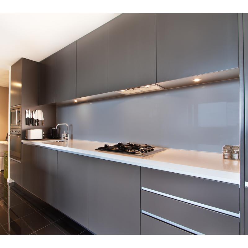 Küchenrückwand Silbergrau (RAL 7001)